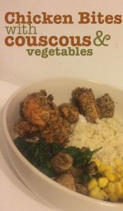 healthy food chicken couscous