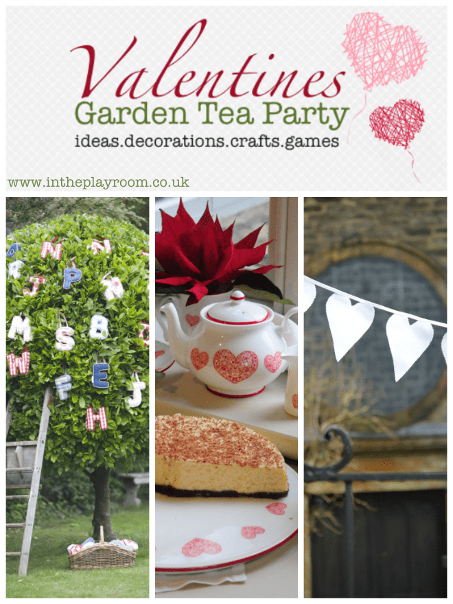 valentines party garden ideas