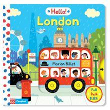 hello london campbell board book