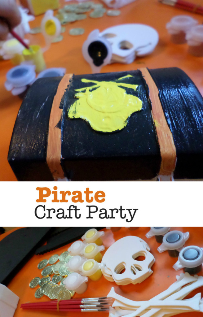 tips and ideas for a pirate craft party