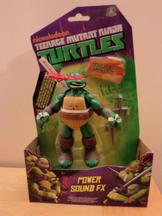 Teenage Mutant Ninja Turtles toys powersound fx turtles figure