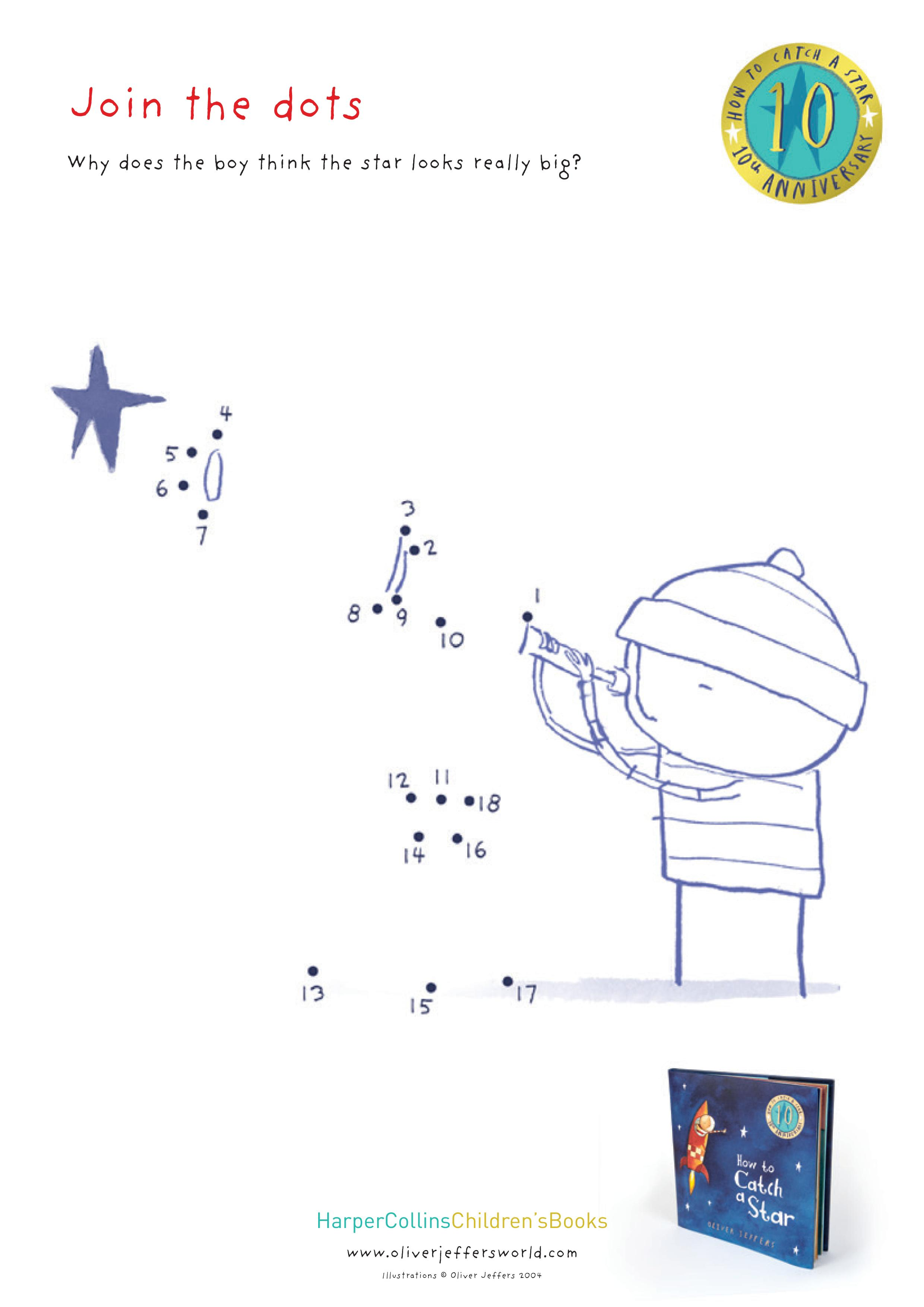 how to catch a star printable activity sheets in the playroom