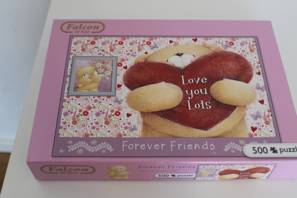 forever friends love you lots puzzle for mothers day