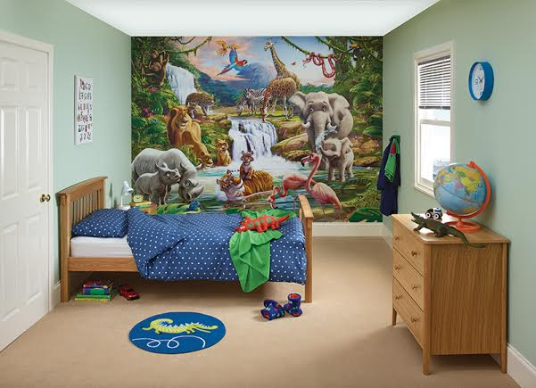 Mr Z's New Jungle Room With #DuluxBedroom In A Box