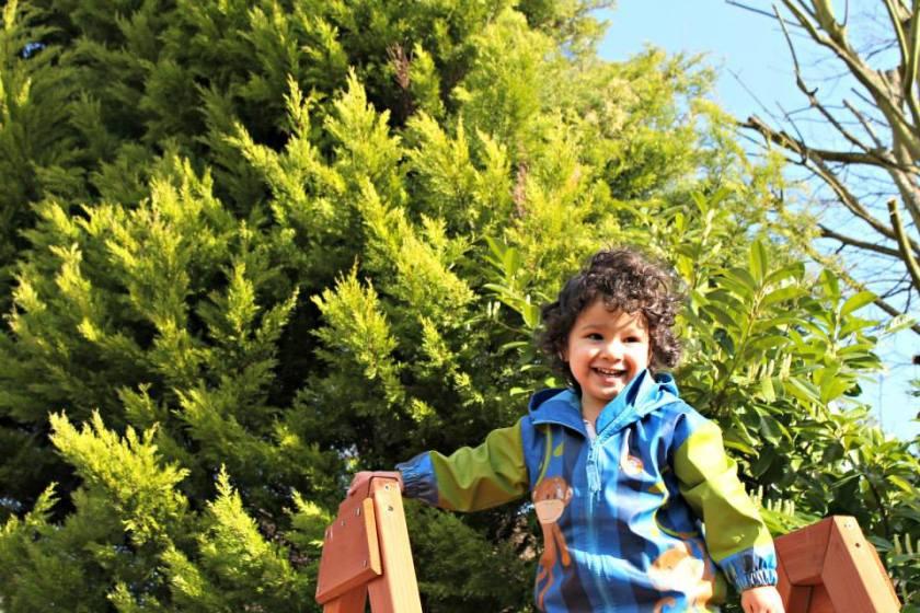 springtime fun toddler