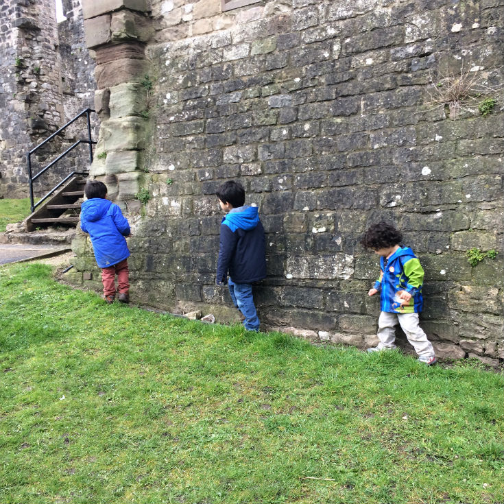 exploring chepstow castle