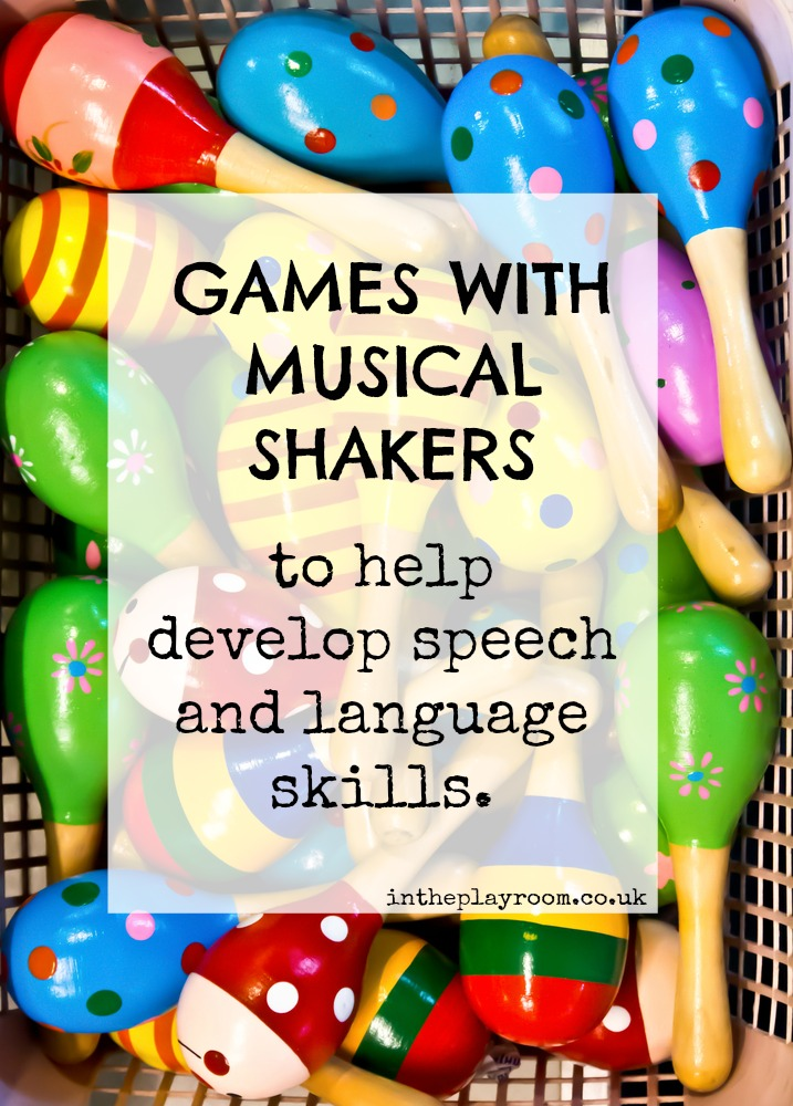 toddler games with musical shakers for speech and