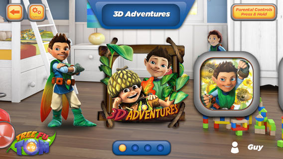 Tree Fu Tom 3D Adventures App