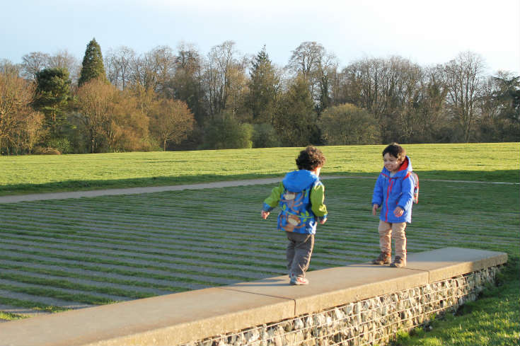 children at Verulamium