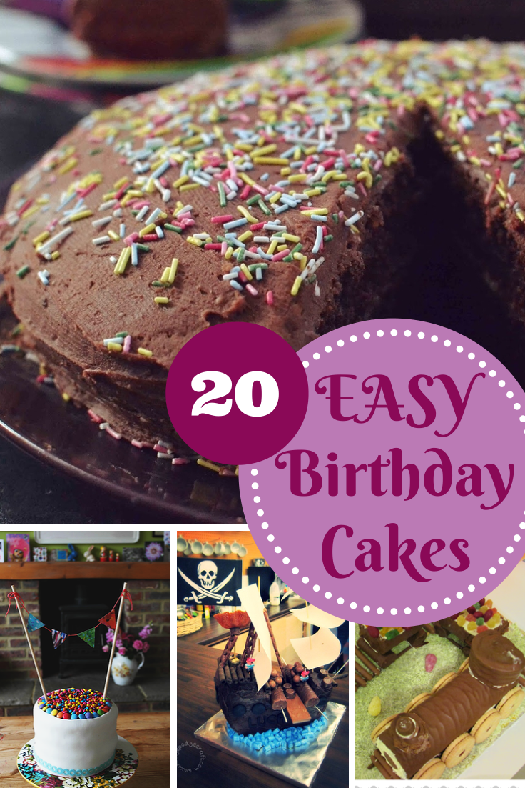 Easy Birthday Cake Recipes In The Playroom