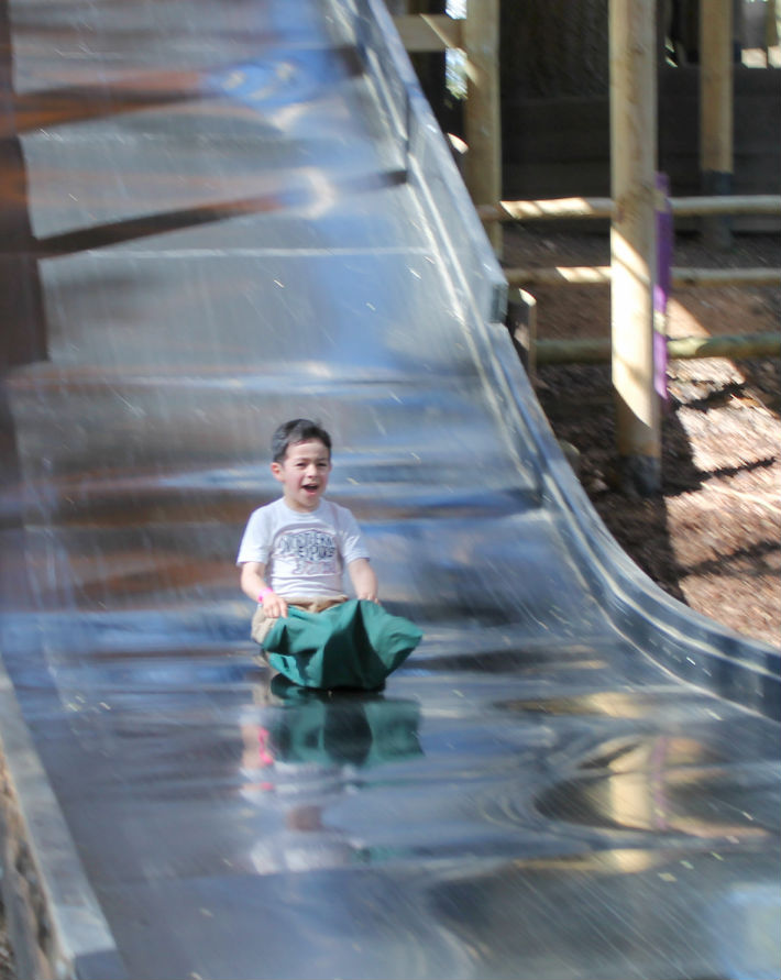 slipery slopes slides at bewilderwood