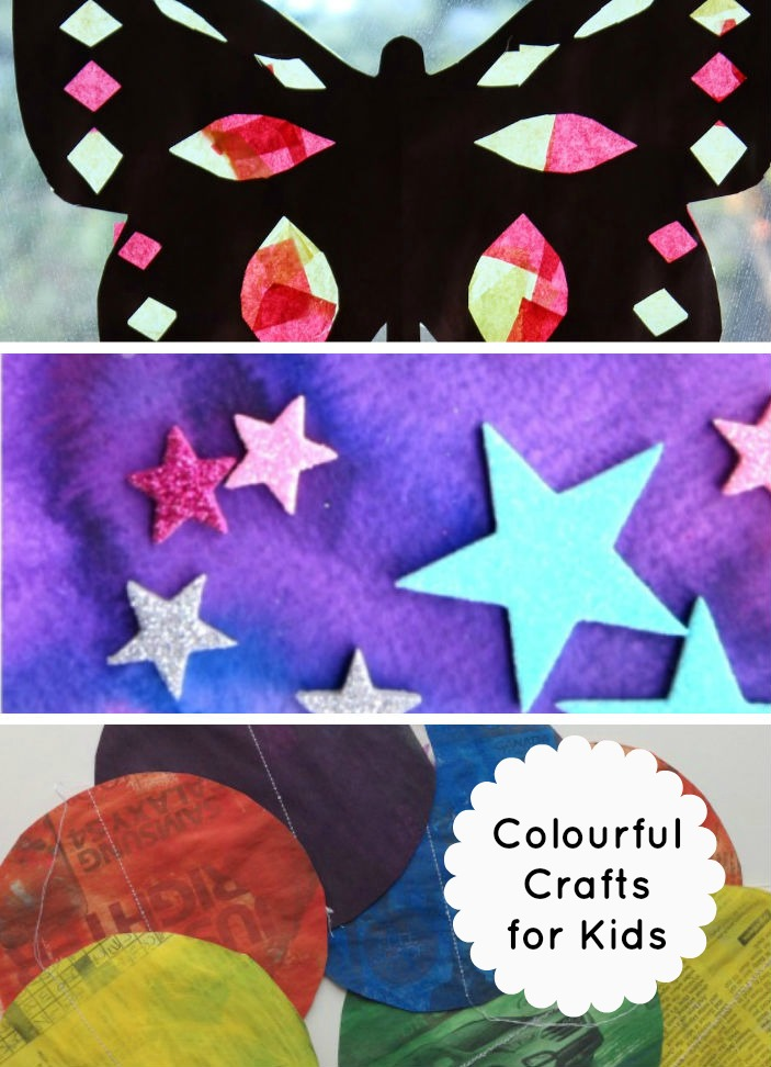 colourful crafts for kids