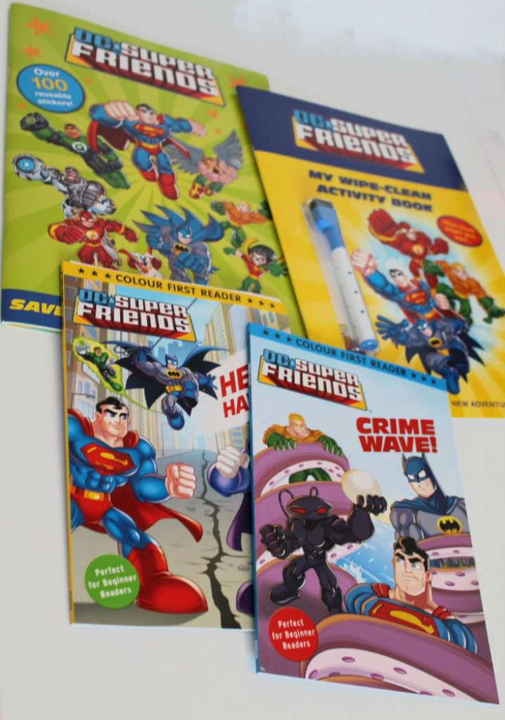 DC Super Friends Books from Random House