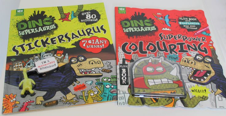 Dino Supersaurus books range