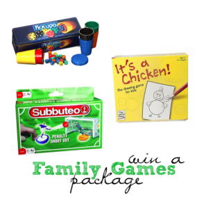 Family Games bundle giveaway