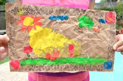 mexican folk art amate paintings