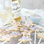 Elderflower biscuits