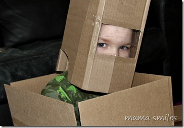 cardboard astronaut junk modelling idea by by mamasmiles.com