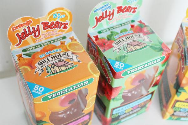 jellybears vegetarian vitamins