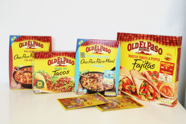 Old El Paso Mexican Food products