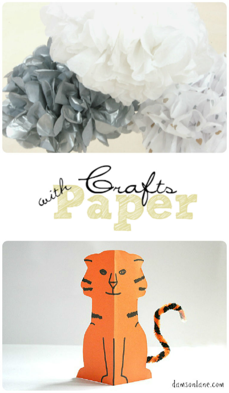 Paper Crafts featured on Tuesday Tutorials Week 16