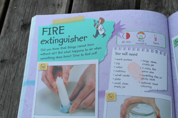 fire extinguisher science experiment for kids