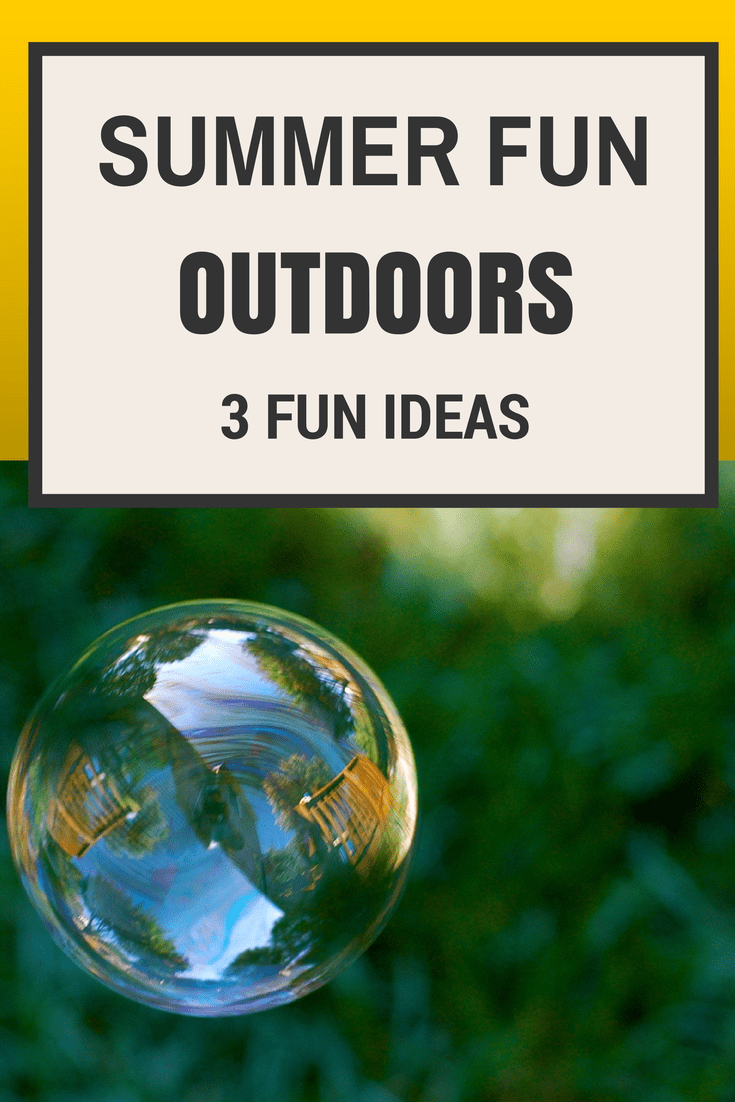 3 great ideas for outdoors summer fun featured on Tuesday Tutorials