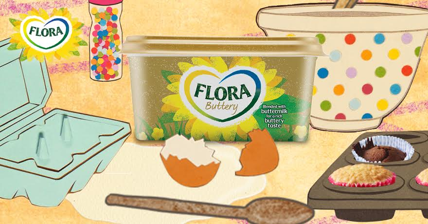 Can You Bake Cakes With Flora Buttery