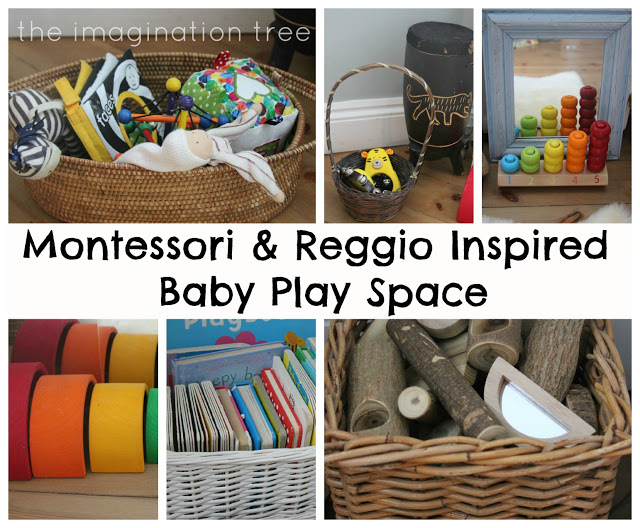 montessori+and+reggio+inspired+baby+play+space