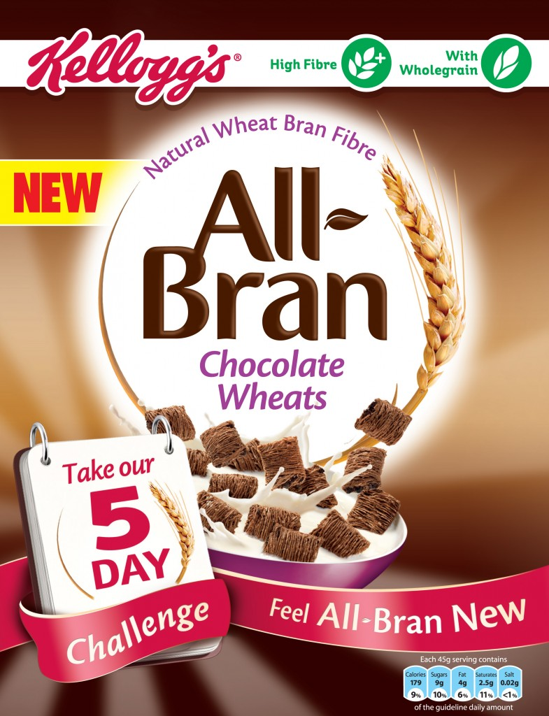 Kelloggs ALL BRAN CHOCOLATE WHEATS