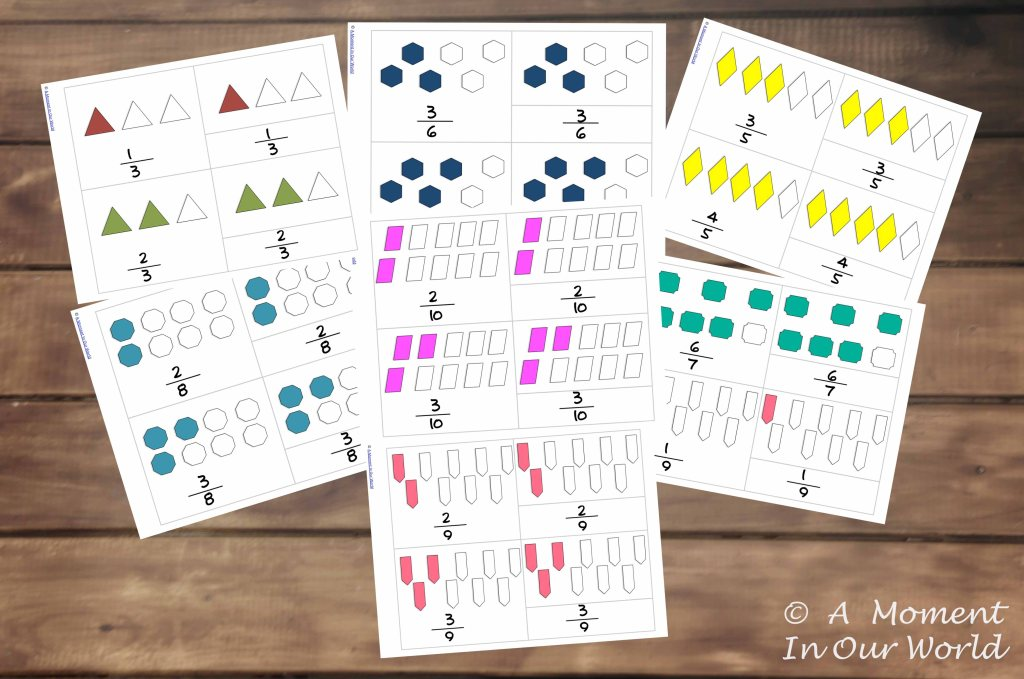 Fractions-3-Part-Cards-picture