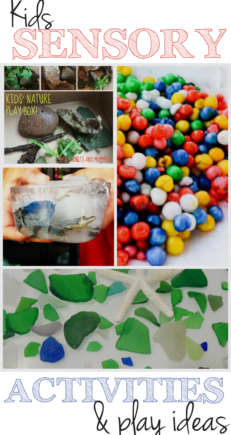 Great ideas for kids sensory bins and sensory play activities