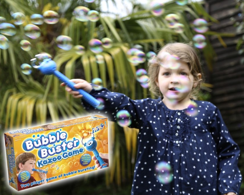 Bubble Buster Kazoo great summer game for kids