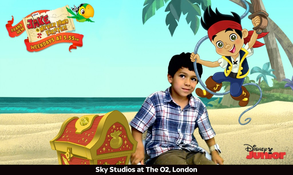 Jake and Neverland Pirates Picture at Sky Studios