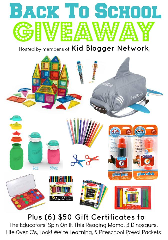 Win a huge bundle of Back to school projects with the KBN back to school giveaway
