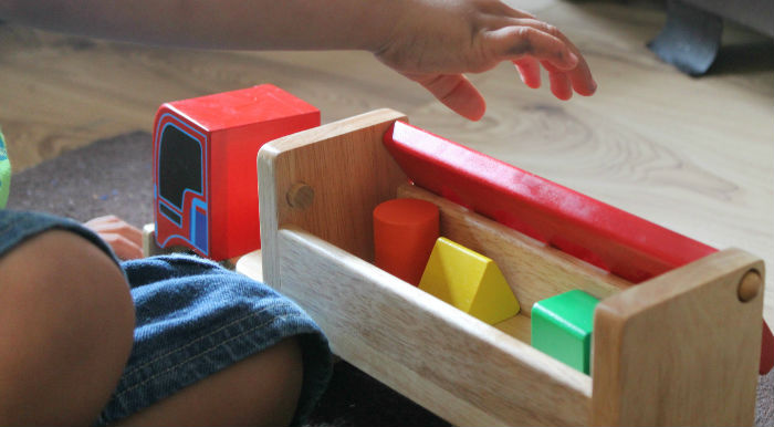 Bigjigs Sorting Blocks Lorry