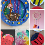 7 creative paper plate crafts for kids - such cute ideas!