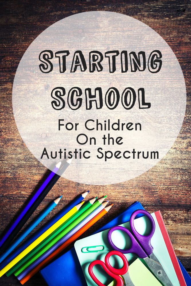 Tips for starting school for children with Autism, strategies and visuals