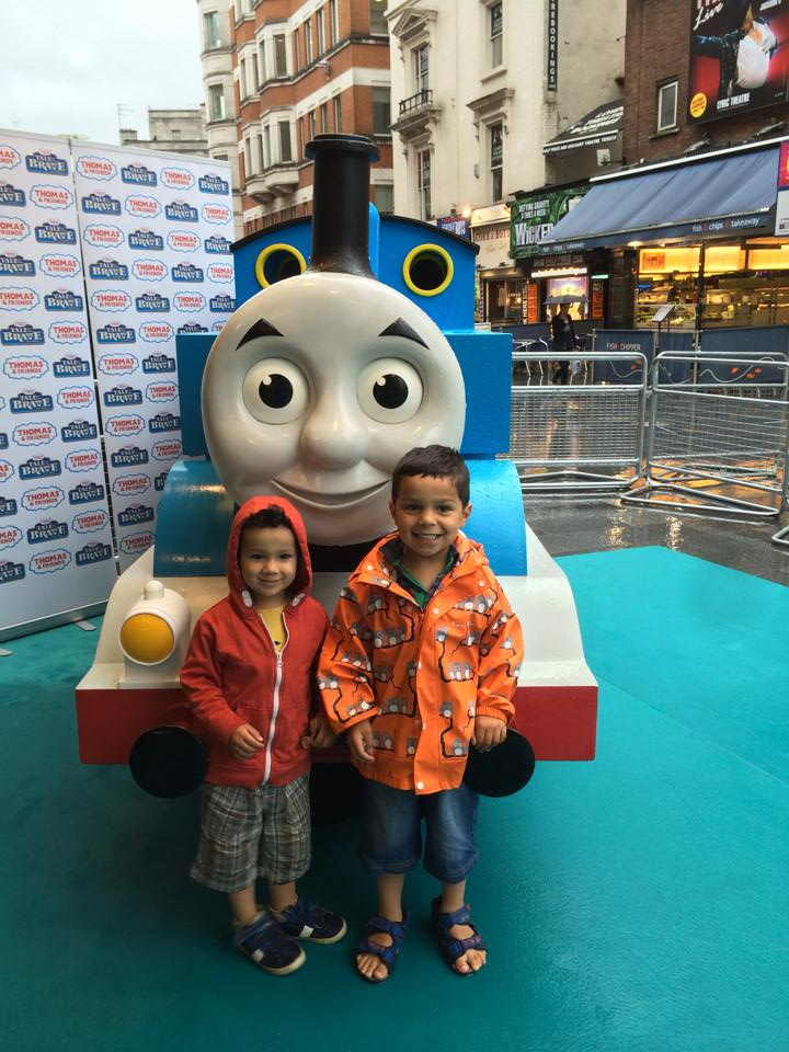 Thomas & Friends Tale of The Brave Premiere