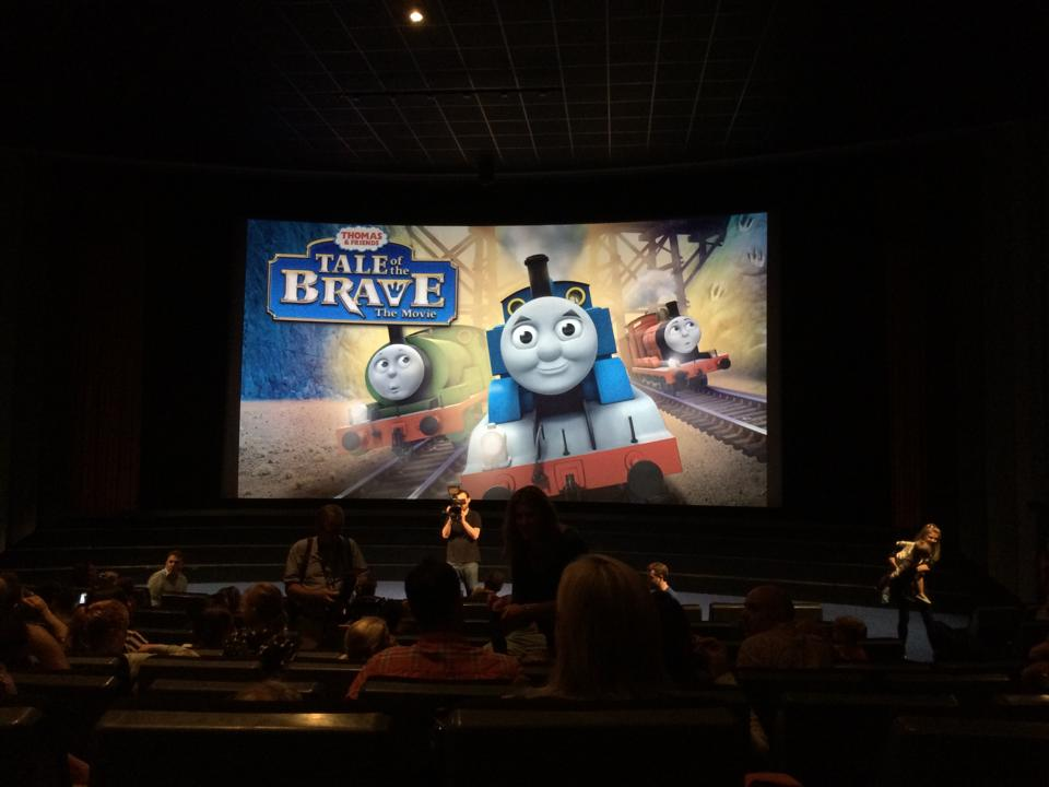 Thomas & Friends Tale of The Brave UK Premiere