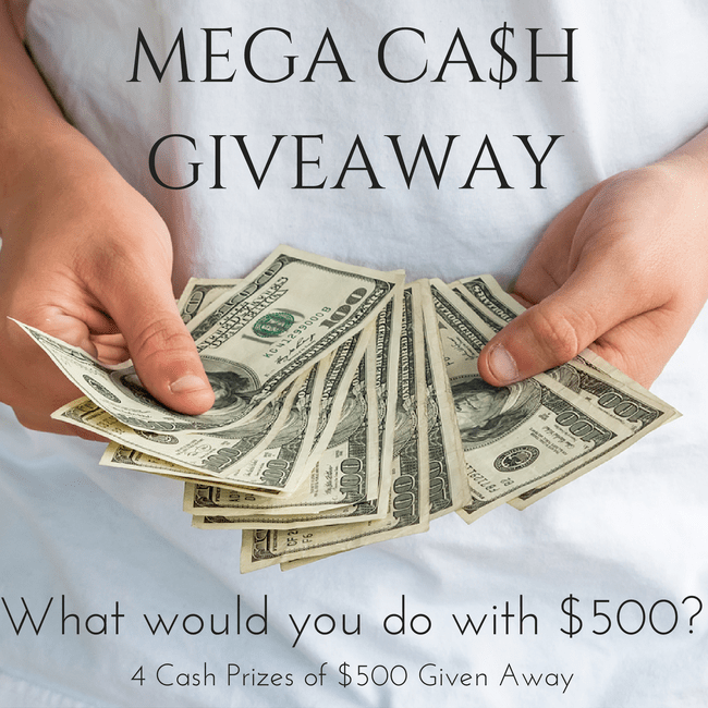Mega Cash Giveaway with the Kid Blogger Network