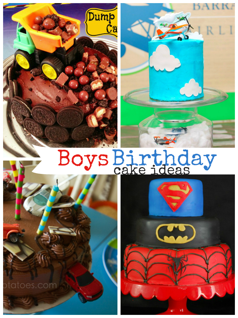 Awesome boys birthday cake ideas. I love the super hero cake!