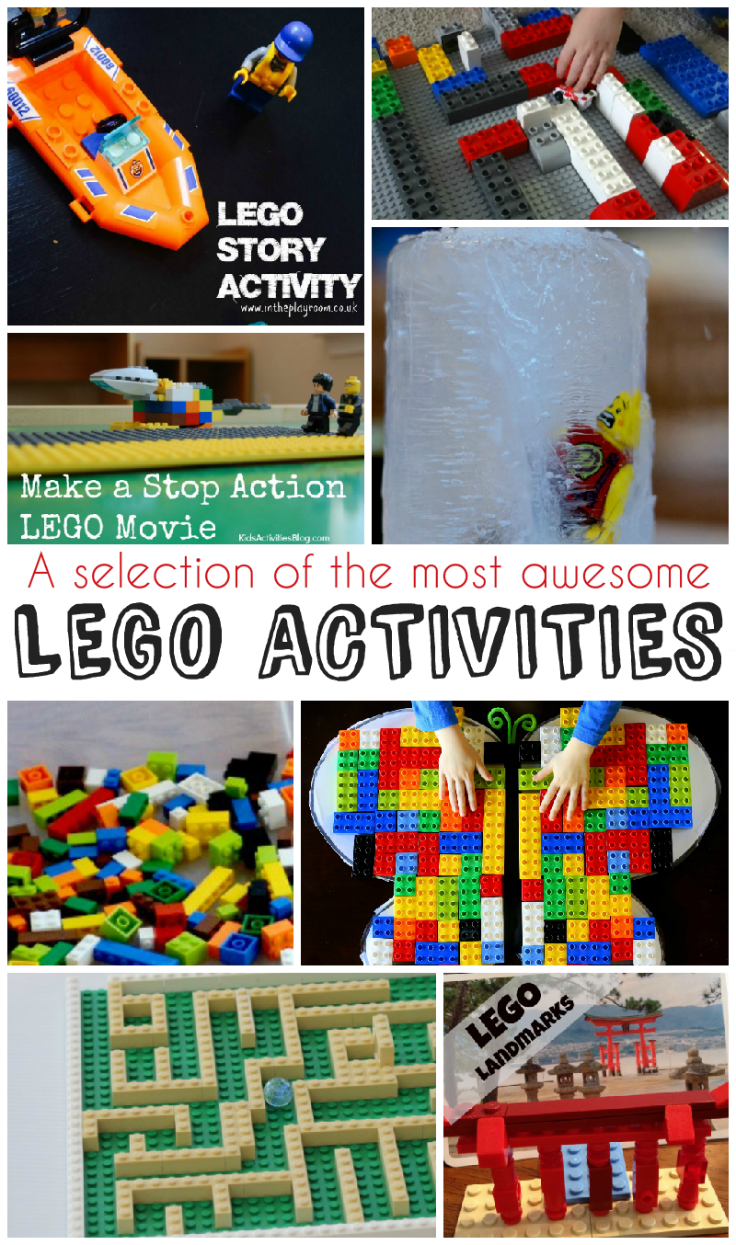 10 of the most awesome Lego activities - maths, science and creativity. Everything is awesome! :)