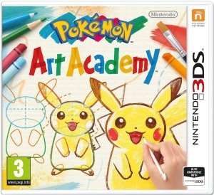 pokemon art academy on nintendo ds