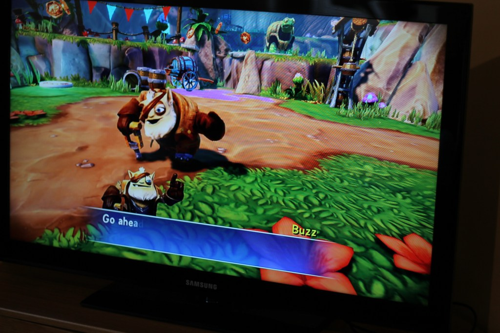 Skylanders trap team game