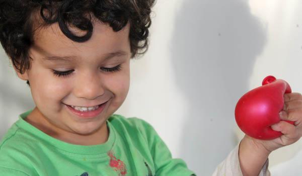 squishy water balloon diy sensory toy