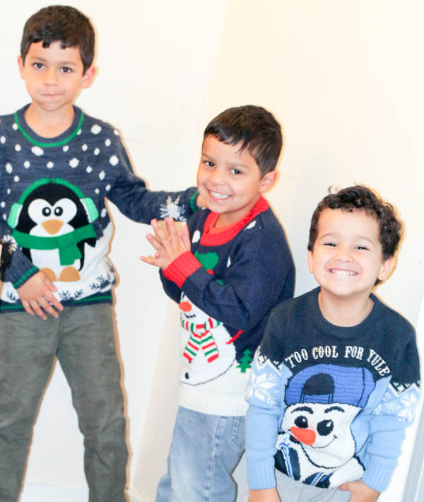 Range of Christmas jumpers from george at asda