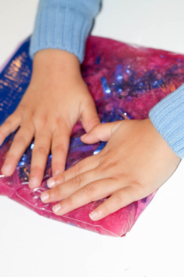 squishy sensory bag