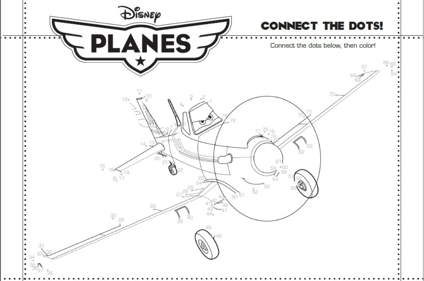Planes 2 Connect the Dots