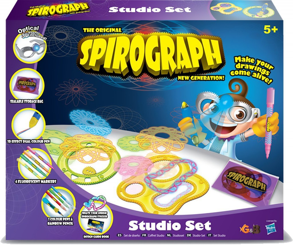 Win 1 of 5 Spirograph Studio Set